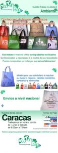 bolsas ecológicas e - Local en Internet de calidad
