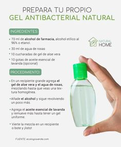 Busco gel antibacterial natural girl