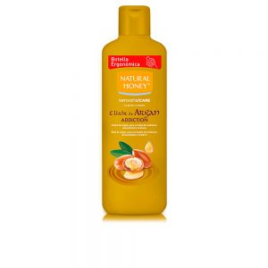 gel de ducha natural honey argan de oferta
